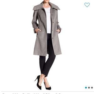 New Cole Haan gray platinum coat